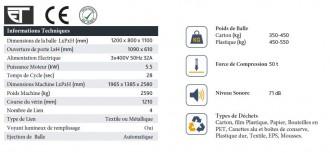 Presse à carton grande capacité - Devis sur Techni-Contact.com - 4