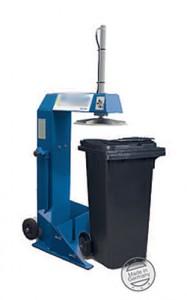 Presse à déchets pour bacs roulants - Devis sur Techni-Contact.com - 2