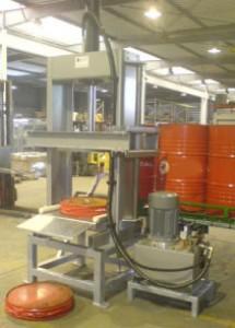 Presse à fût automatique pression compactage 20 tonnes - Devis sur Techni-Contact.com - 1
