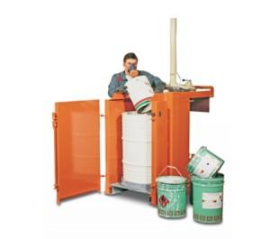 Presse à fut déchets dangereux - Devis sur Techni-Contact.com - 2