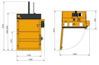 Presse carton force 5 tonnes - Devis sur Techni-Contact.com - 2