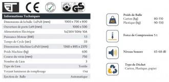 Presse carton force 5 tonnes - Devis sur Techni-Contact.com - 3