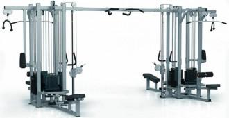 Presse de musculation double jungle machine - Devis sur Techni-Contact.com - 1