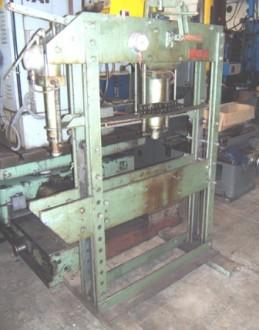 Presse hydraulique d'atelier manuelle Force 50 et 10 Tonnes - Devis sur Techni-Contact.com - 1