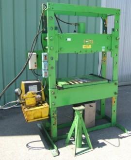 Presse hydraulique d'atelier motorisée Force 50 Tonnes - Devis sur Techni-Contact.com - 1