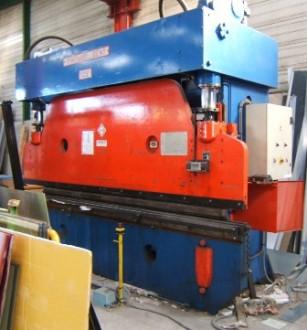 Presse plieuse hydraulique 125 Tonnes - Devis sur Techni-Contact.com - 1