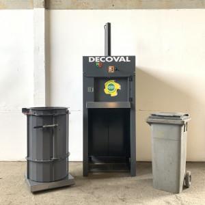 Presse poubelle et sac - Devis sur Techni-Contact.com - 1