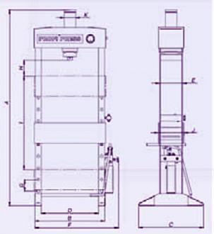 Presse verticale hydraulique manuelle - Devis sur Techni-Contact.com - 2