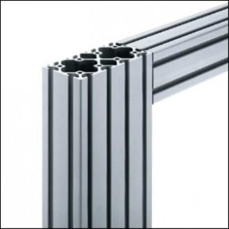 Profilé aluminium 6 120x60 naturel - Devis sur Techni-Contact.com - 1