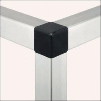 Profilé aluminium 6 30x30 1N léger naturel - Devis sur Techni-Contact.com - 1