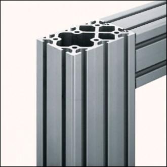 Profilé aluminium 8 120x80 naturel - Devis sur Techni-Contact.com - 1