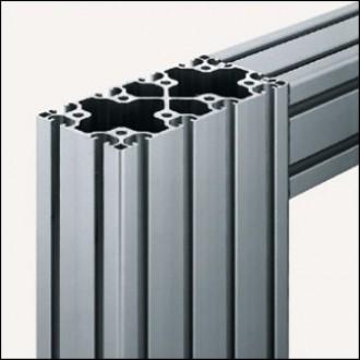 Profilé aluminium 8 160x80 léger naturel - Devis sur Techni-Contact.com - 1