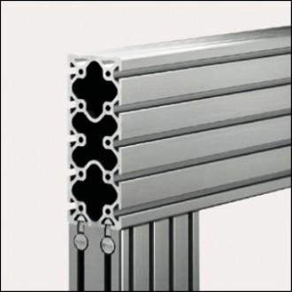 Profilé aluminium 8 200x80 naturel - Devis sur Techni-Contact.com - 1