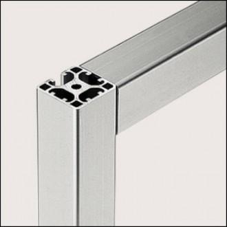 Profilé aluminium 8 40x40 2N90 léger naturel - Devis sur Techni-Contact.com - 1