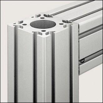 Profilé aluminium 8 80x80 D40 naturel - Devis sur Techni-Contact.com - 1