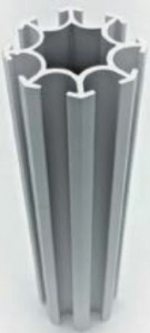 Profilé aluminium octogonal - Devis sur Techni-Contact.com - 1