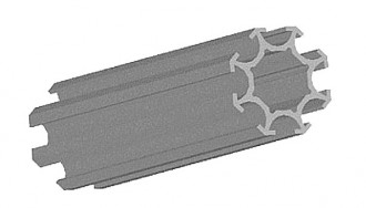 Profilé aluminium octogonal - Devis sur Techni-Contact.com - 2