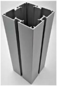 Profilé carré en aluminium 4 directions - Devis sur Techni-Contact.com - 1