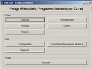 Programme de pesage standard  - Devis sur Techni-Contact.com - 2