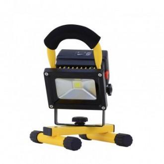 Projecteur LED portatif avec Batterie 10W et Chargeur USB - Devis sur Techni-Contact.com - 4