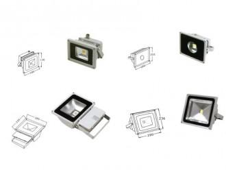 Projecteur LED pour façade 10 à 100 Watt - Devis sur Techni-Contact.com - 3