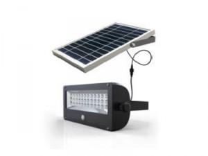 Projecteur solaire autonome 700 lumens - Devis sur Techni-Contact.com - 1