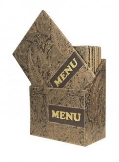 Protège menu A4 pour restaurant - Devis sur Techni-Contact.com - 2