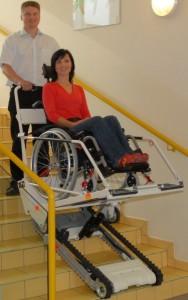 Plate forme monte escalier mobile - Devis sur Techni-Contact.com - 1