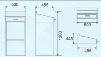 Pupitre acier inoxydable - Devis sur Techni-Contact.com - 2