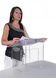 Pupitre de table en plexiglass - Devis sur Techni-Contact.com - 1