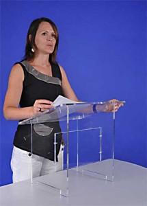 Pupitre de table en plexiglass - Devis sur Techni-Contact.com - 5