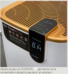 Purificateur d'air HEPA H14 mobile - Devis sur Techni-Contact.com - 3