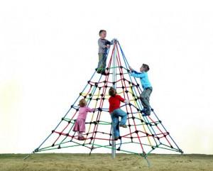 Pyramide de corde pour enfants - Devis sur Techni-Contact.com - 1