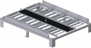 Quai pour stockage palettes charge utile 7 tonnes - Devis sur Techni-Contact.com - 1