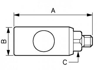 Raccord fileté mâle cylindrique - Devis sur Techni-Contact.com - 2