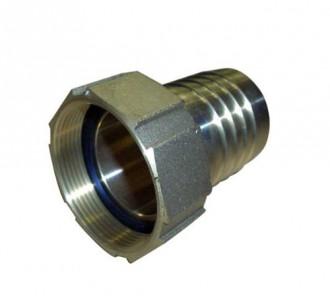 Raccord inox filetage gaz - Devis sur Techni-Contact.com - 1