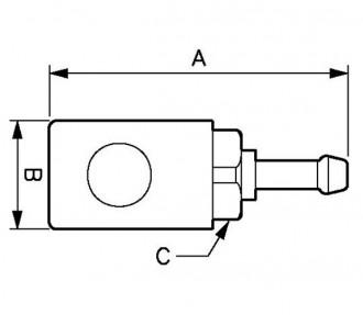 Raccord pneumatique pour flexible - Devis sur Techni-Contact.com - 2