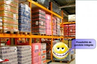 Rack gondole pour magasin - Devis sur Techni-Contact.com - 1