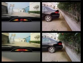 Radar de recul à LED 8 capteurs avec mini écran - Devis sur Techni-Contact.com - 1