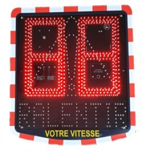 Radar pédagogique V400 - Devis sur Techni-Contact.com - 1
