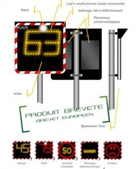 Radar pédagogique démontable - Devis sur Techni-Contact.com - 1