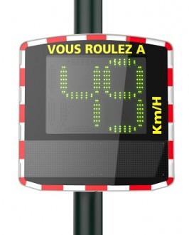Radar pédagogique matrice à diodes 60 x 24 cm - Devis sur Techni-Contact.com - 1