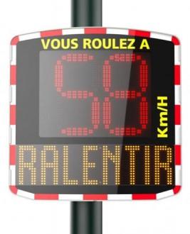 Radar pédagogique mobile - Devis sur Techni-Contact.com - 1