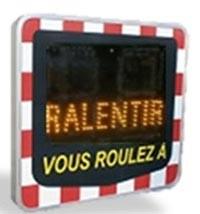 Radar pédagogique préventif - Devis sur Techni-Contact.com - 2