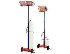 Radiant gaz sur mât - Devis sur Techni-Contact.com - 1