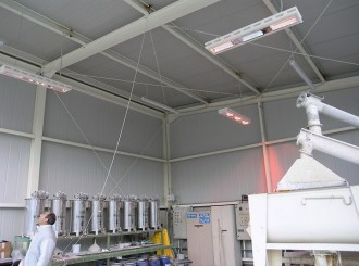 Radiateur électrique rayonnant - Devis sur Techni-Contact.com - 2