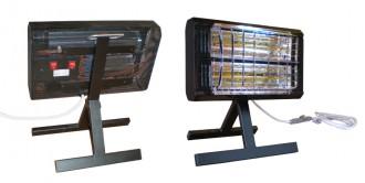 Radiateur mobile avec poignée et pied rabattable - Devis sur Techni-Contact.com - 1