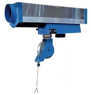 Rail d'extraction gaz modulaire - Devis sur Techni-Contact.com - 1