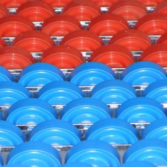 Rails à galets en plastique - Devis sur Techni-Contact.com - 1