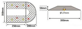 Ralentisseur modulable - Devis sur Techni-Contact.com - 2